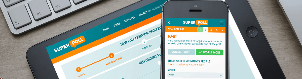 Mobile App Development - banner superpoll